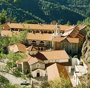 Overnight in Monastery of Kykkos Virgin